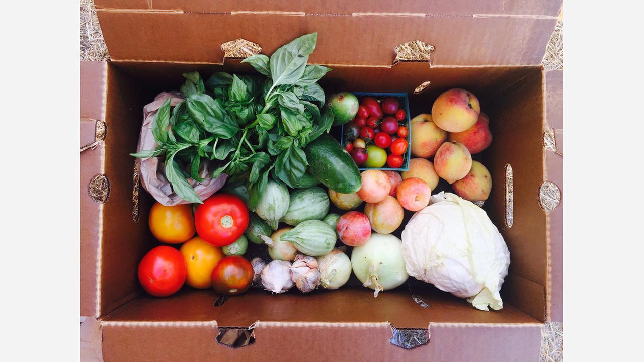 EatWell Farms produce. | Photo: EatWell Farms