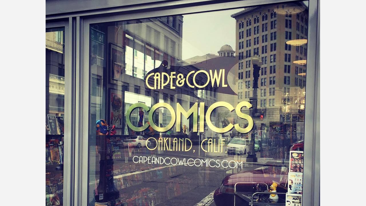 Photo: Cape and Cowl Comics/Facebook