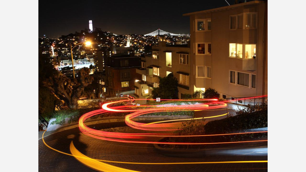 Lombard Street. | Photo: Shinya Suzuki/Flickr