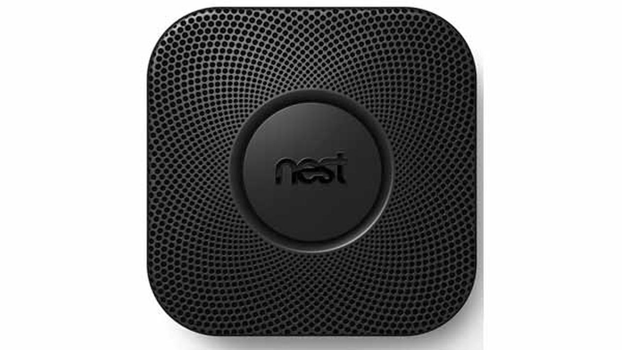 A Nest Labs smoke alarm is seen in this undated image.