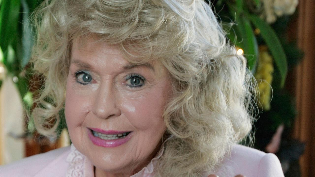 Actress Donna Douglas, a 1960s TV icon who played Elly May Clampett on The Beverly Hillbillies, died on Thursday, Jan. 1, 2015. (AP Photo)