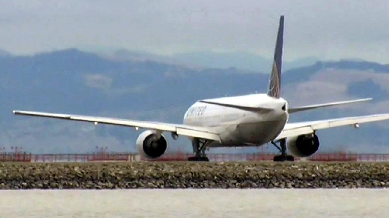Officials said a United Airlines flight bound for Hong Kong was forced to return to SFO  on Saturday, October 10, 2015 because there was not enough fuel to make the trip.