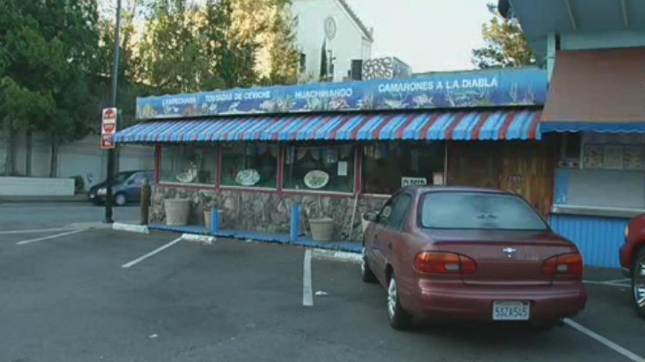 Mariscos San Juan on North 4th Street in San Jose, Calif., was shut down by the county after reports of a Shigella outbreak.