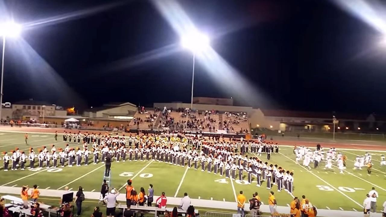 Pittsburg High School marching band