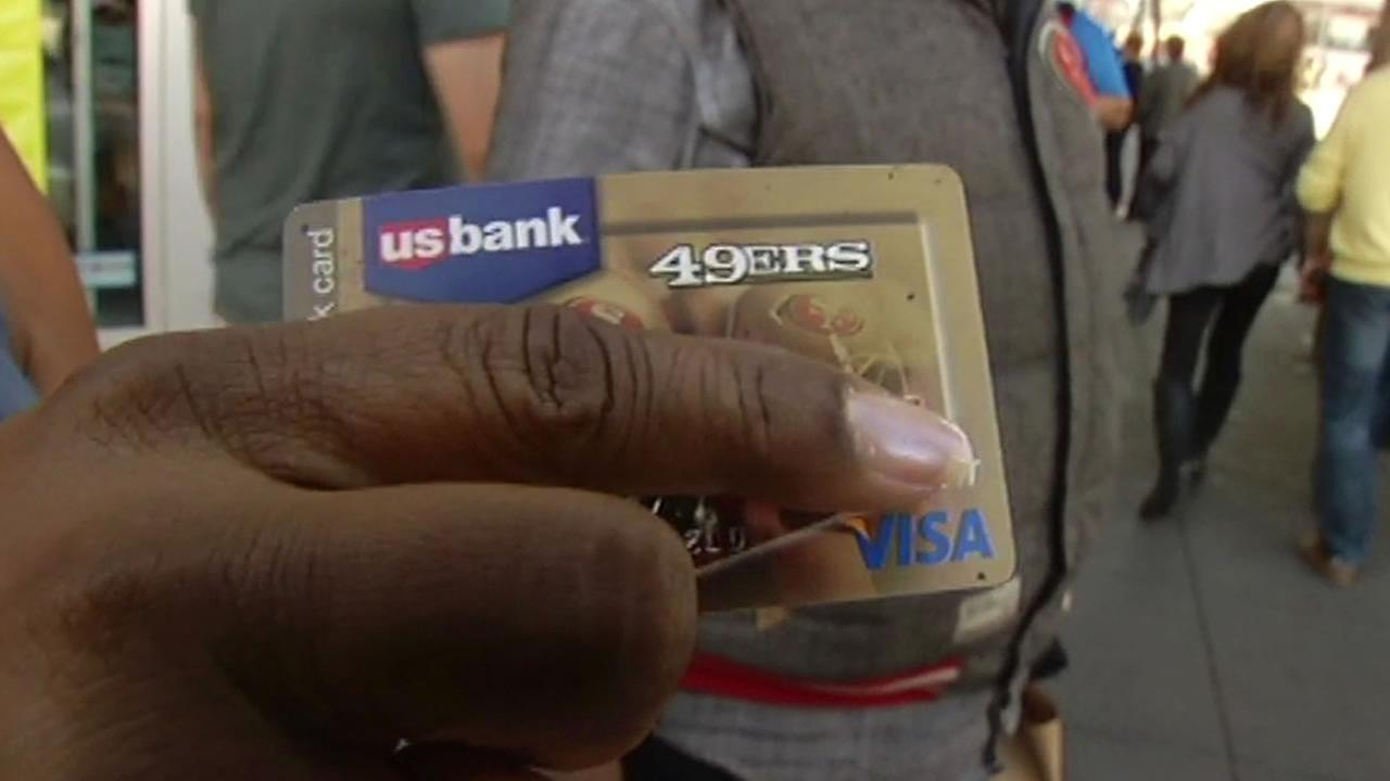 49ers credit card