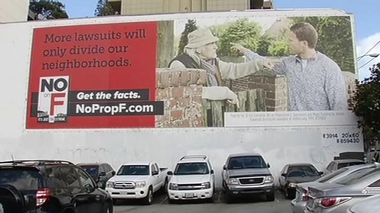 Airbnb ad against Prop F in San Francisco