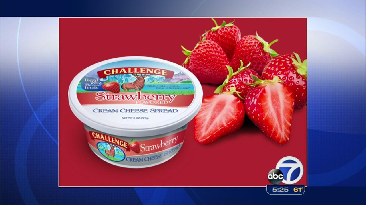 Challenge Dairy Strawberry Cream Cheese; free admittance for two to the Bead Extravaganza