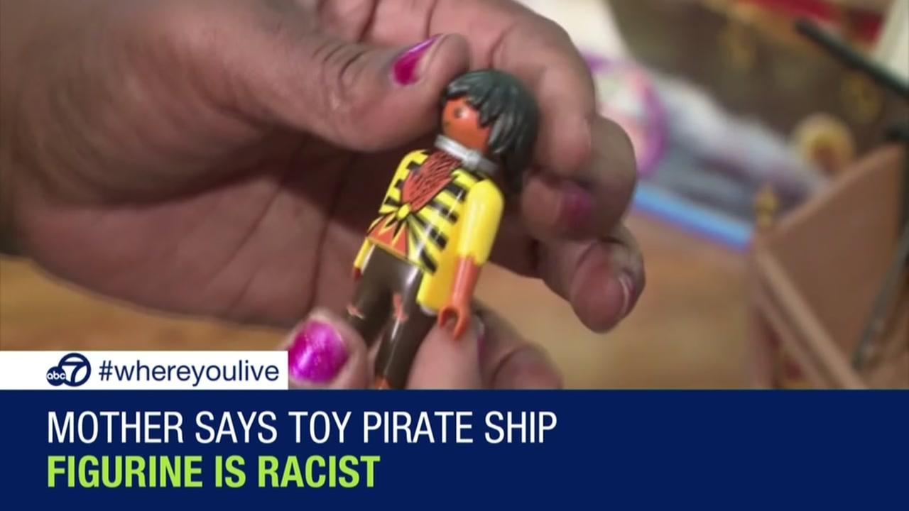 Mom says toy pirate ship figurine is racist