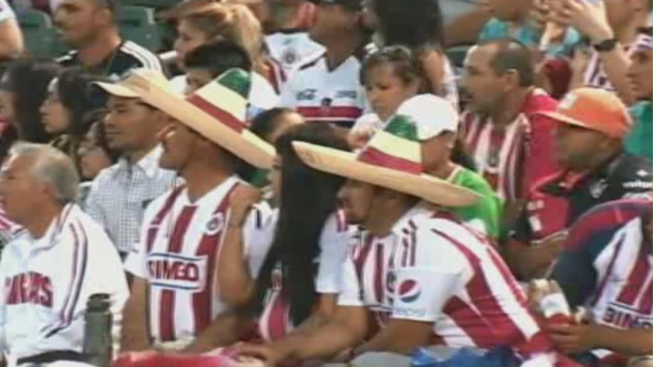 A sold-out crowd is expected for the Chivas-Atlas soccer game at Avaya Stadium in San Jose, Calif., to be played on Saturday, November 14, 2015.