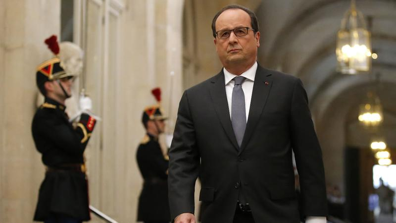 France seeks EU security aid, launches new airstrikes on ISIS