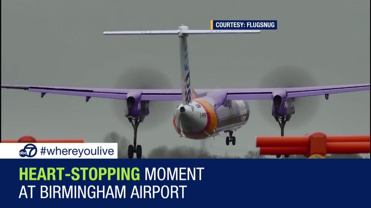 KNOW AND TELL: Plane has terrifying landing