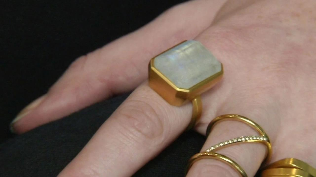 Ringly is a fashionable ring that connects to your phone and will vibrate when you get a call, text, or email so you can keep your phone in your purse without missing any alerts.