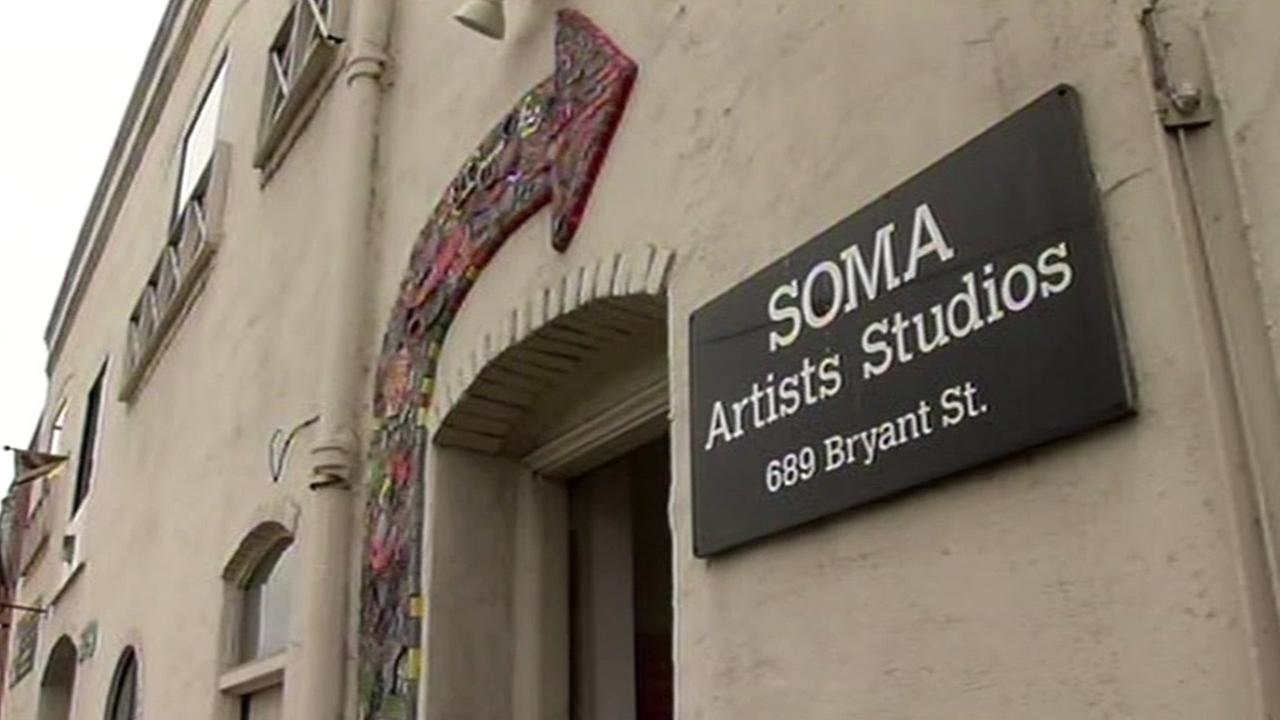 In this undated image the SoMa Aritsts Studios are seen in San Francisco, Calif.