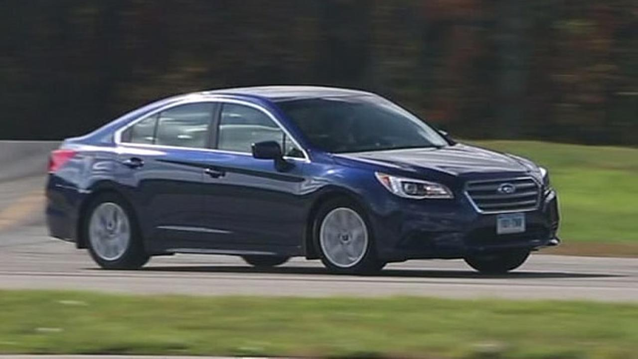 A Subaru Legacy is seen in this undated image.