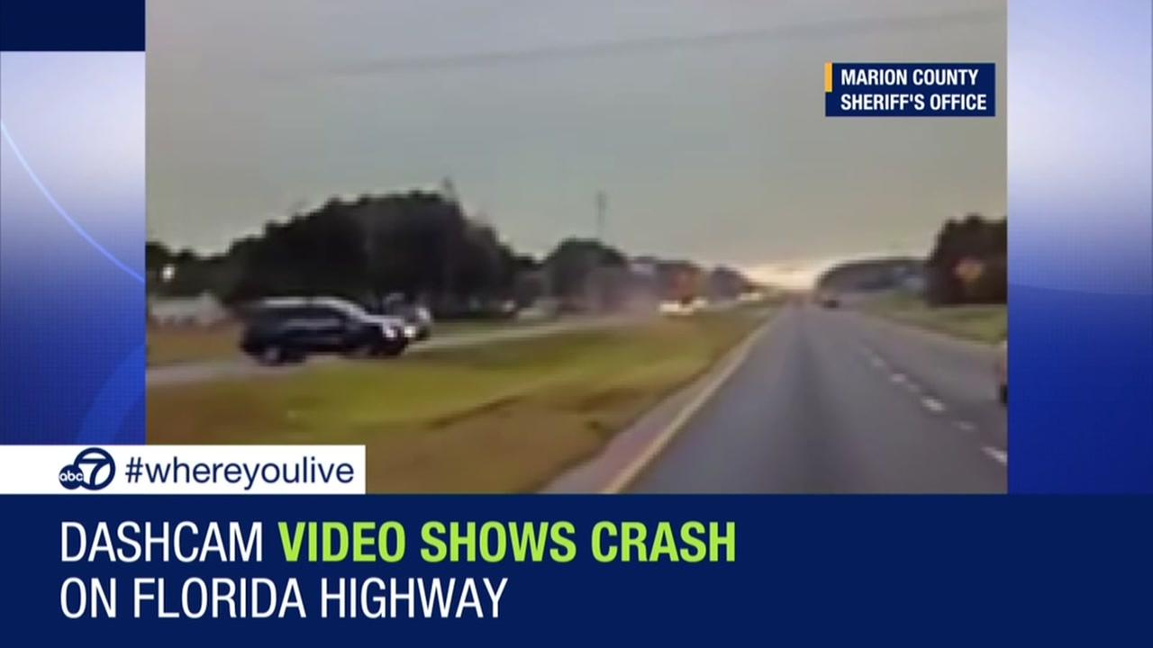 Know and Tell: SUV nearly hits patrol car on Florida highway