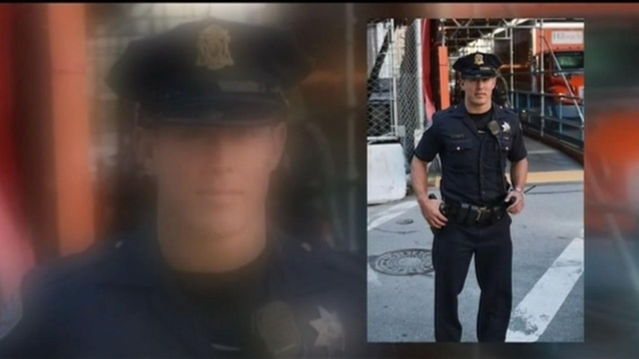 San Francisco police Officer Christopher Kohrs was charged with two felony counts of hit-and-run following a crash early Sunday morning in San Francisco Nov. 30, 2015.