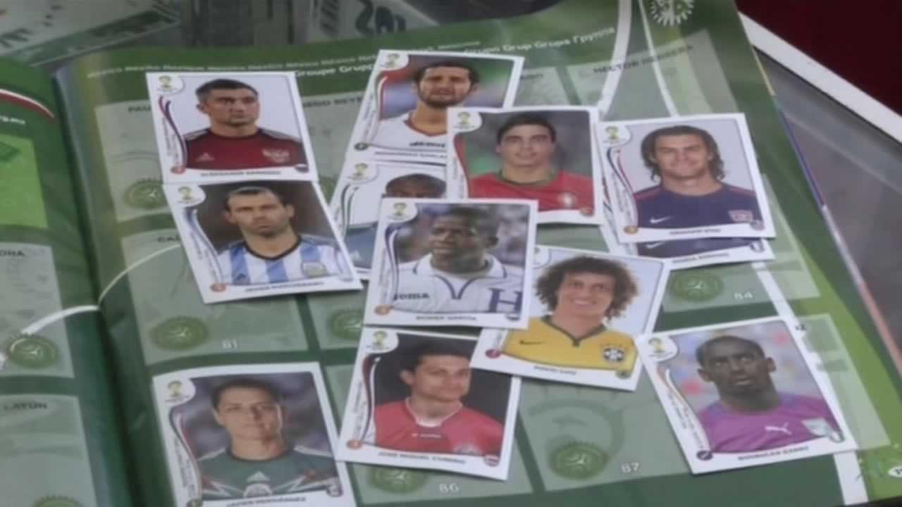 Sticker collecting is the thing to do if youre a World Cup fan.