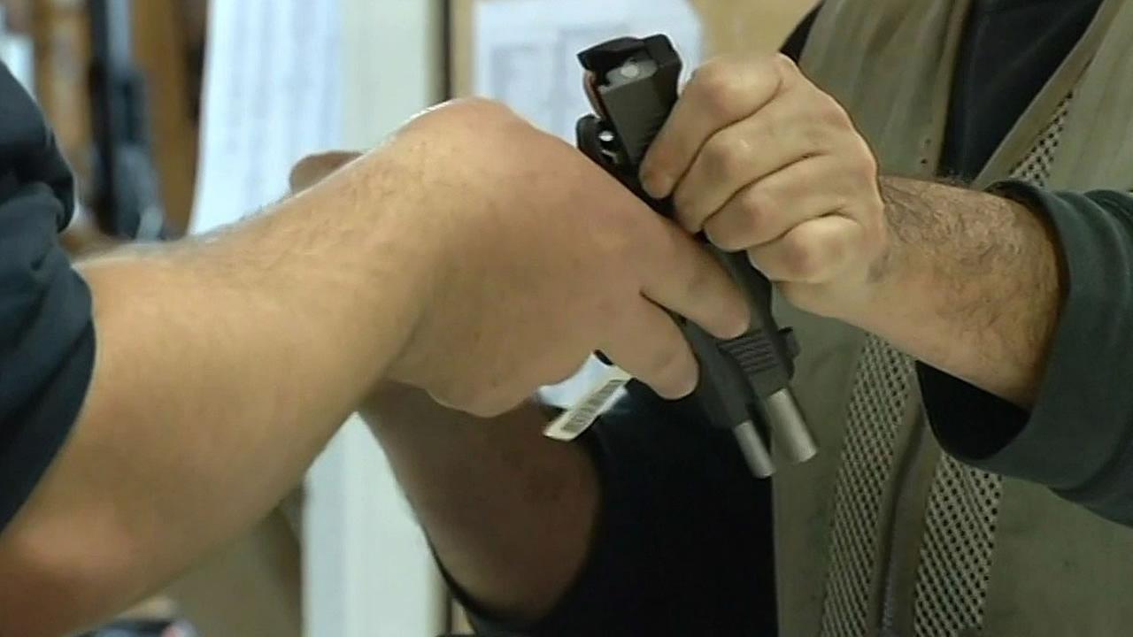 handgun sales