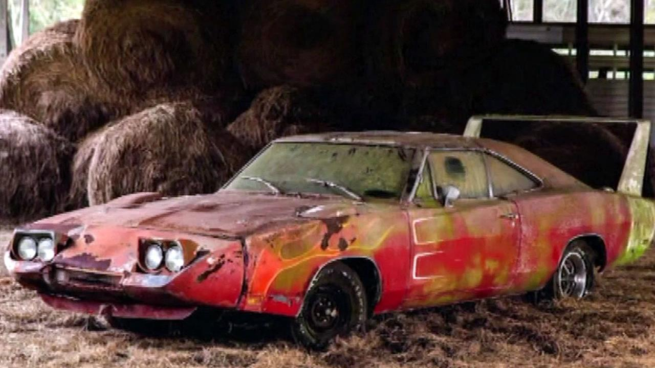 A rare 1969 Dodge Charger Daytona is seen in this undated image.