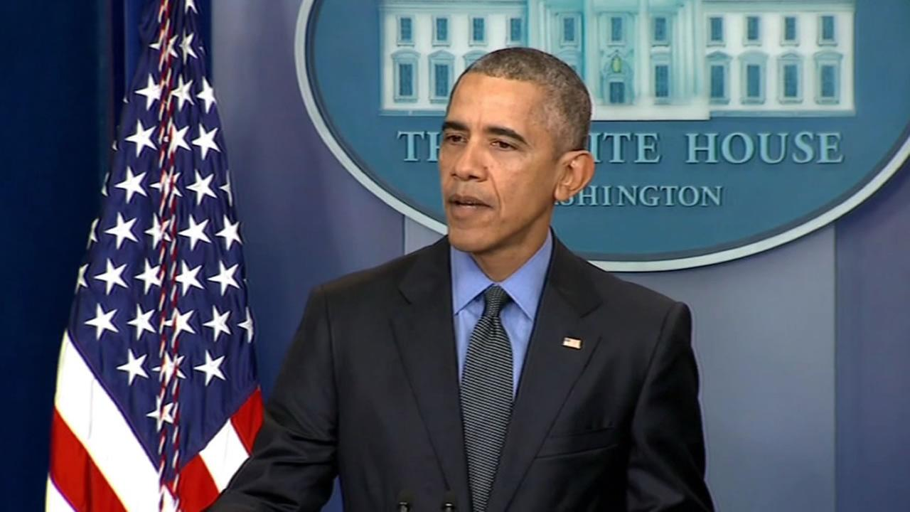 President Barack Obama holds his last press conference of 2015