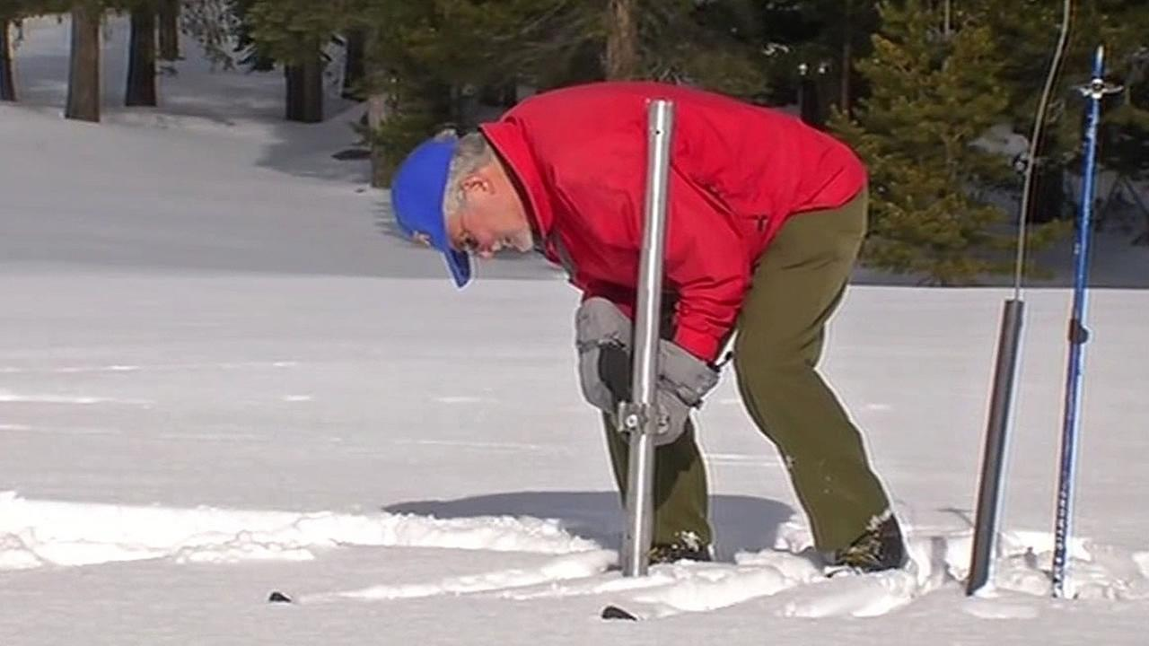official measures deep snowpack