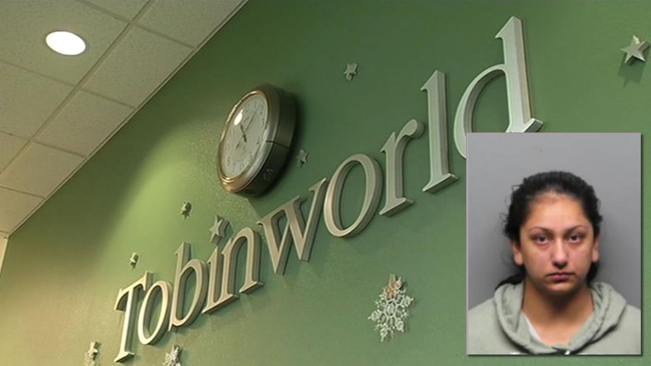 A former teachers aide at Tobinworld school in Antioch, 26-year-old Kamaljot Kaur, was arrested Jan. 6, 2016 after she was accused of abusing a student after a video surfaced.