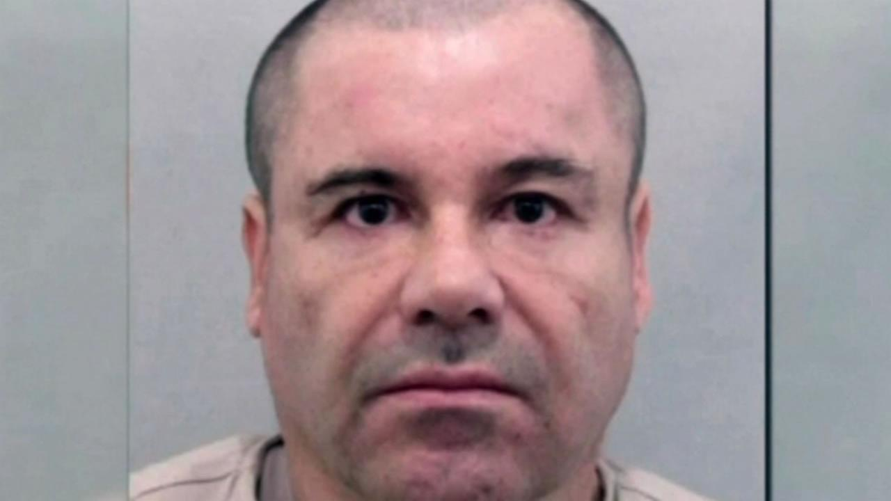 This image show fugitive drug lord Joaquin El Chapo Guzman who was apprehended after a shootout with Mexican marines in his home state of Sinaloa January 8, 2015.
