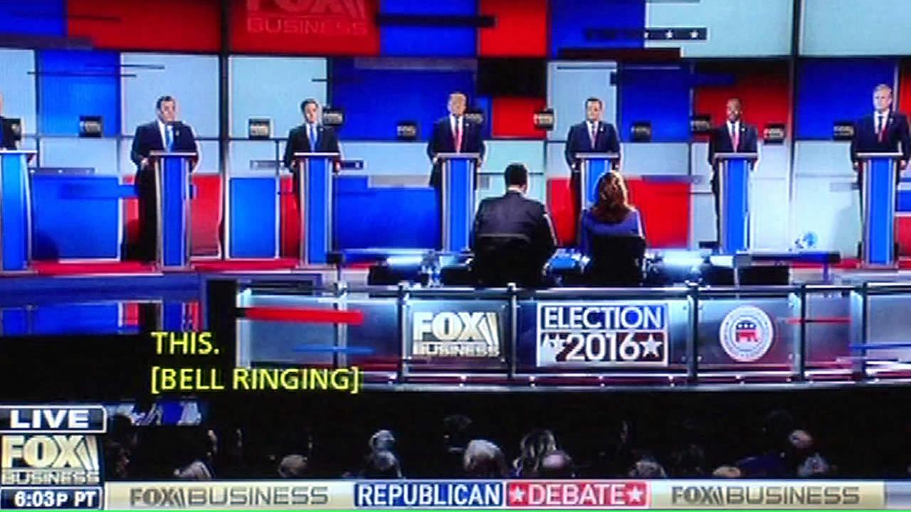 GOP debate on Jan. 14, 2106 on TV