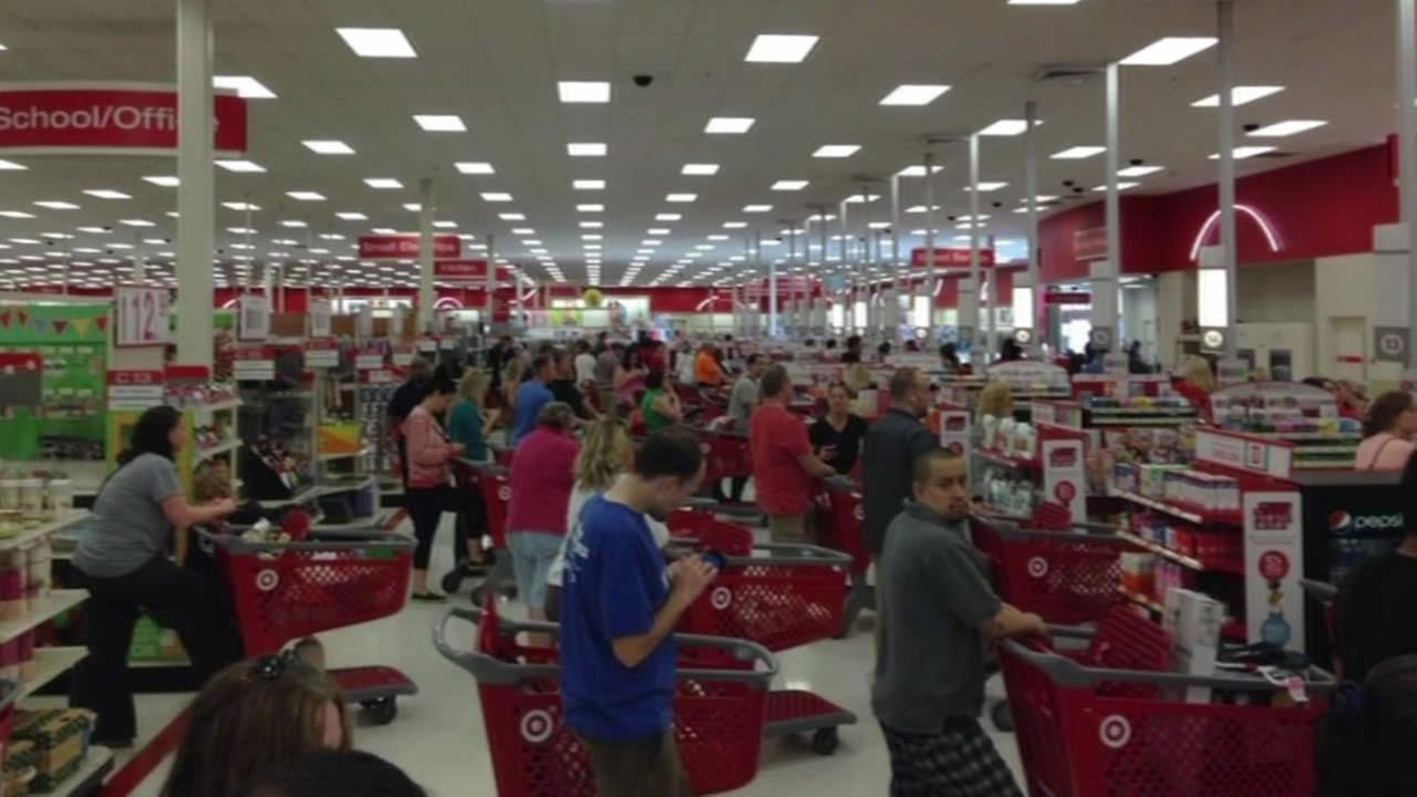 Target customers in line