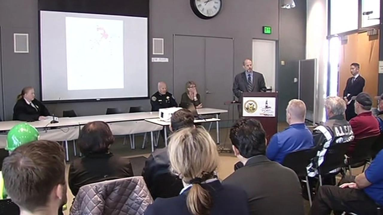 San Francisco officials hold press conference