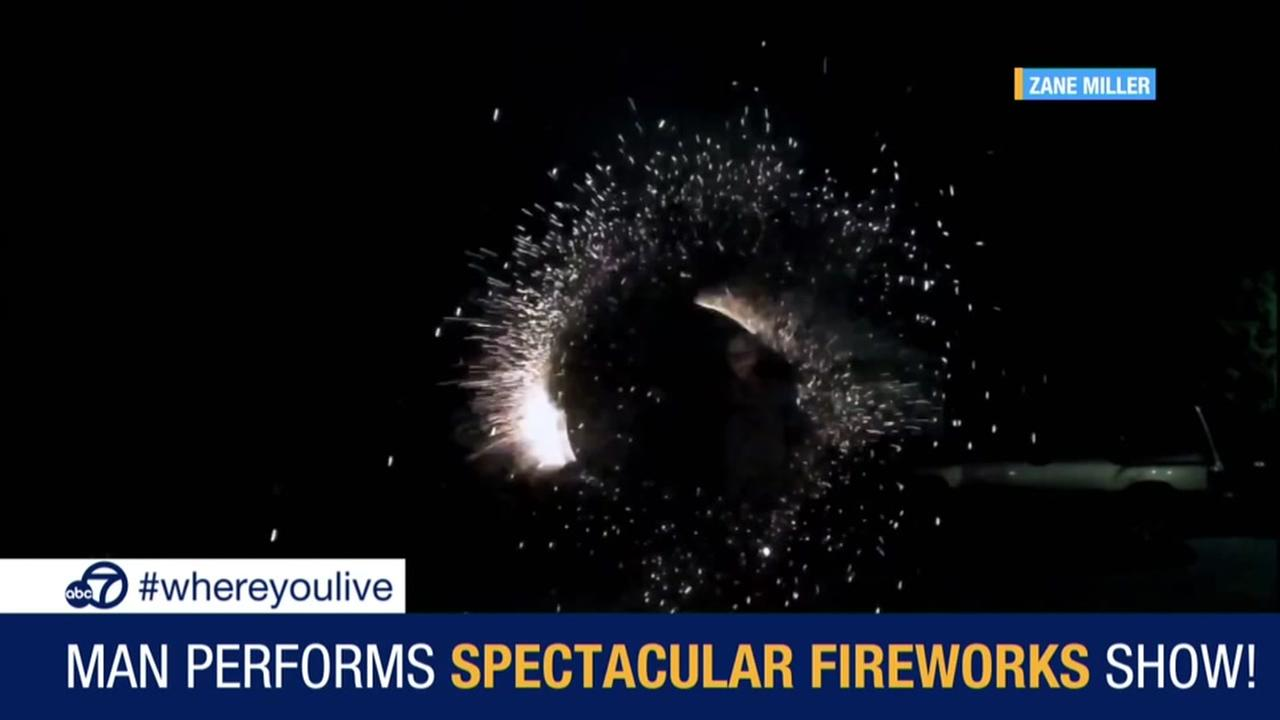 KNOW AND TELL: Man performs spectacular fireworks show
