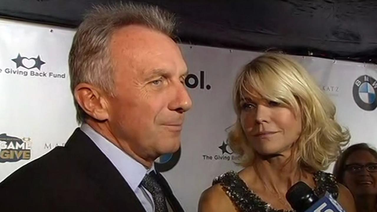 San Francisco 49ers legend Joe Montana at the Big Game Big Give party