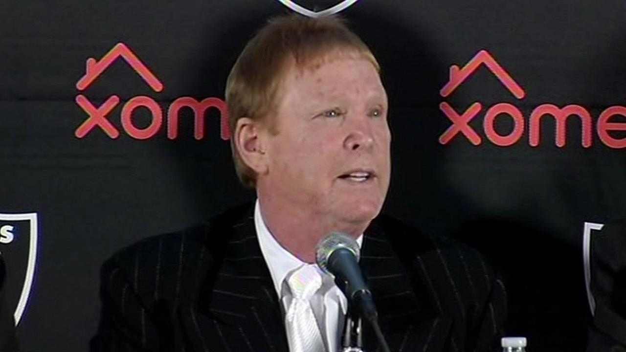 Oakland Raiders owner Mark Davis