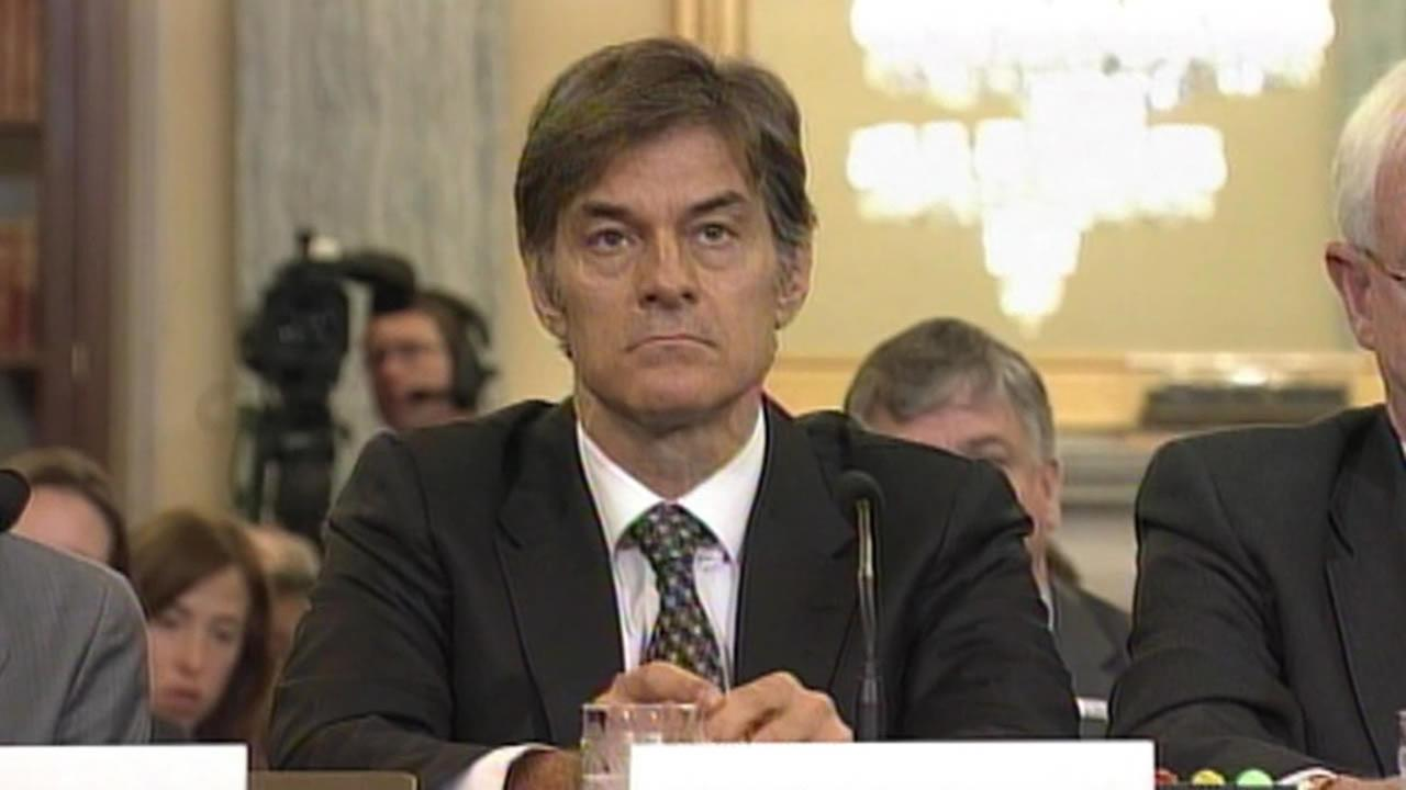 Dr. Mehmet Oz on Capitol Hill