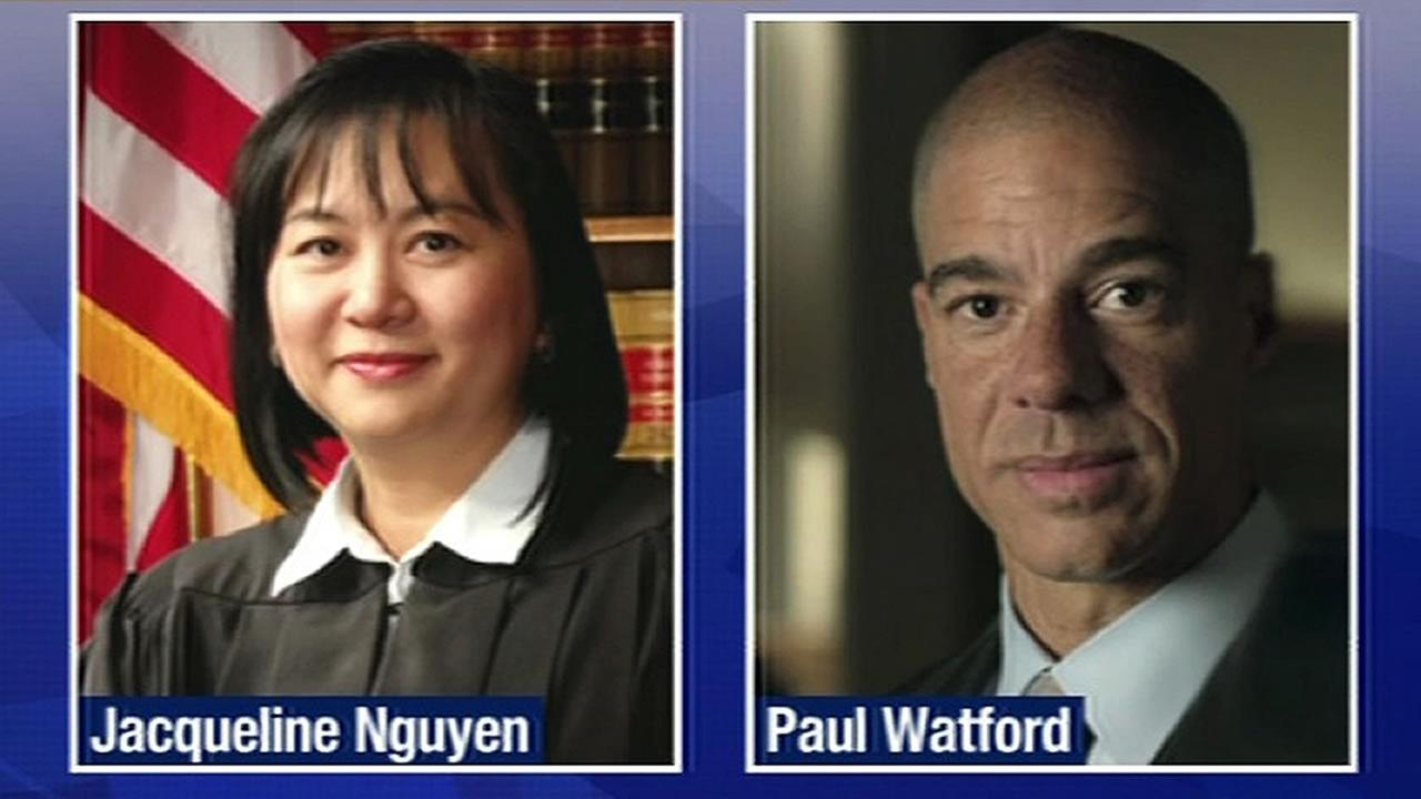 Justices Jacqueline Nguyen and Paul Watford