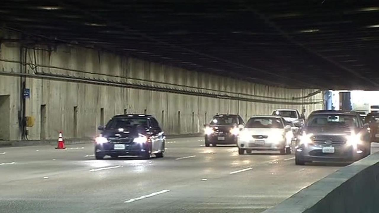 Yerba Buena Tunnel