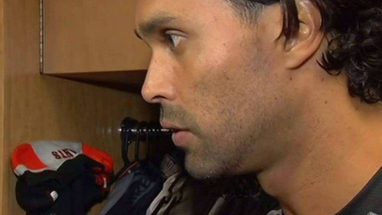 San Francisco Giants Angel Pagan is seen in this undated image.
