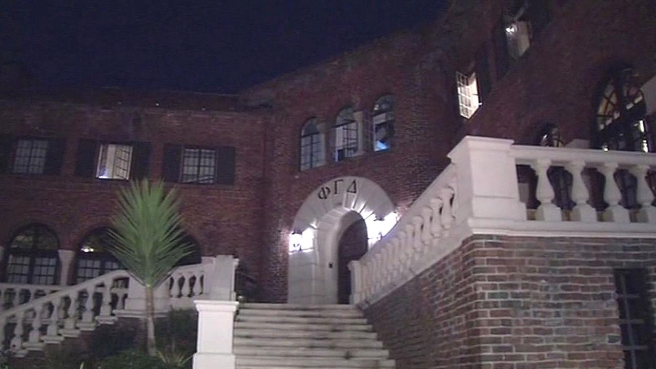 UC Berkeley fraternity house