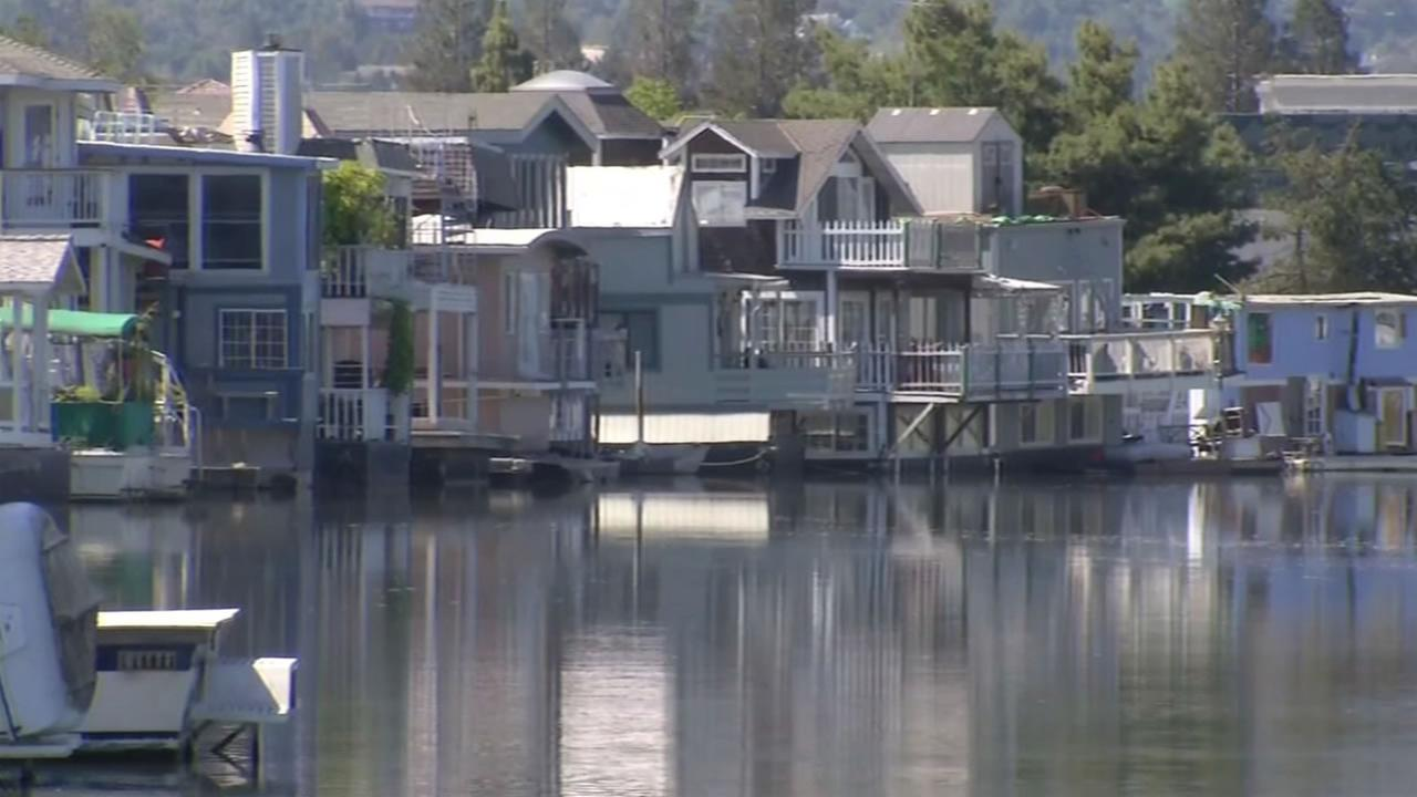 This image shows Docktown in Redwood City, Calif.