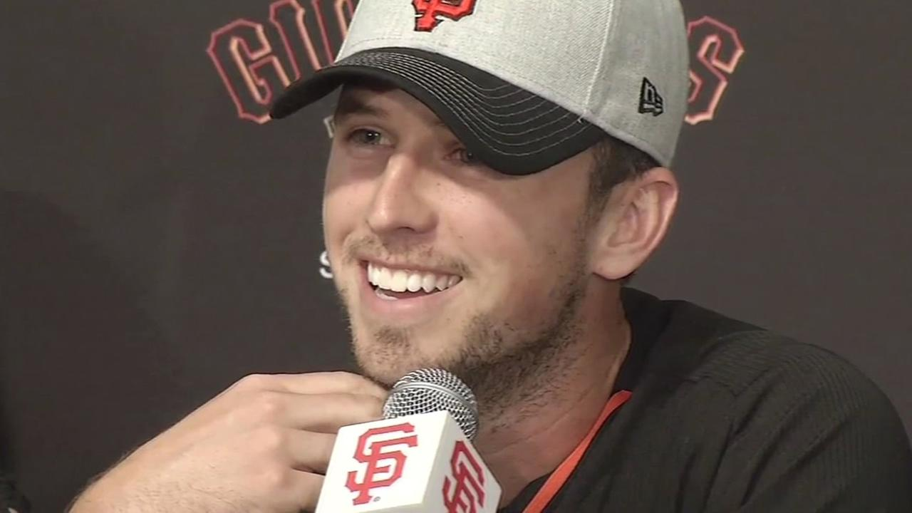 San Francisco Giants star Buster Posey