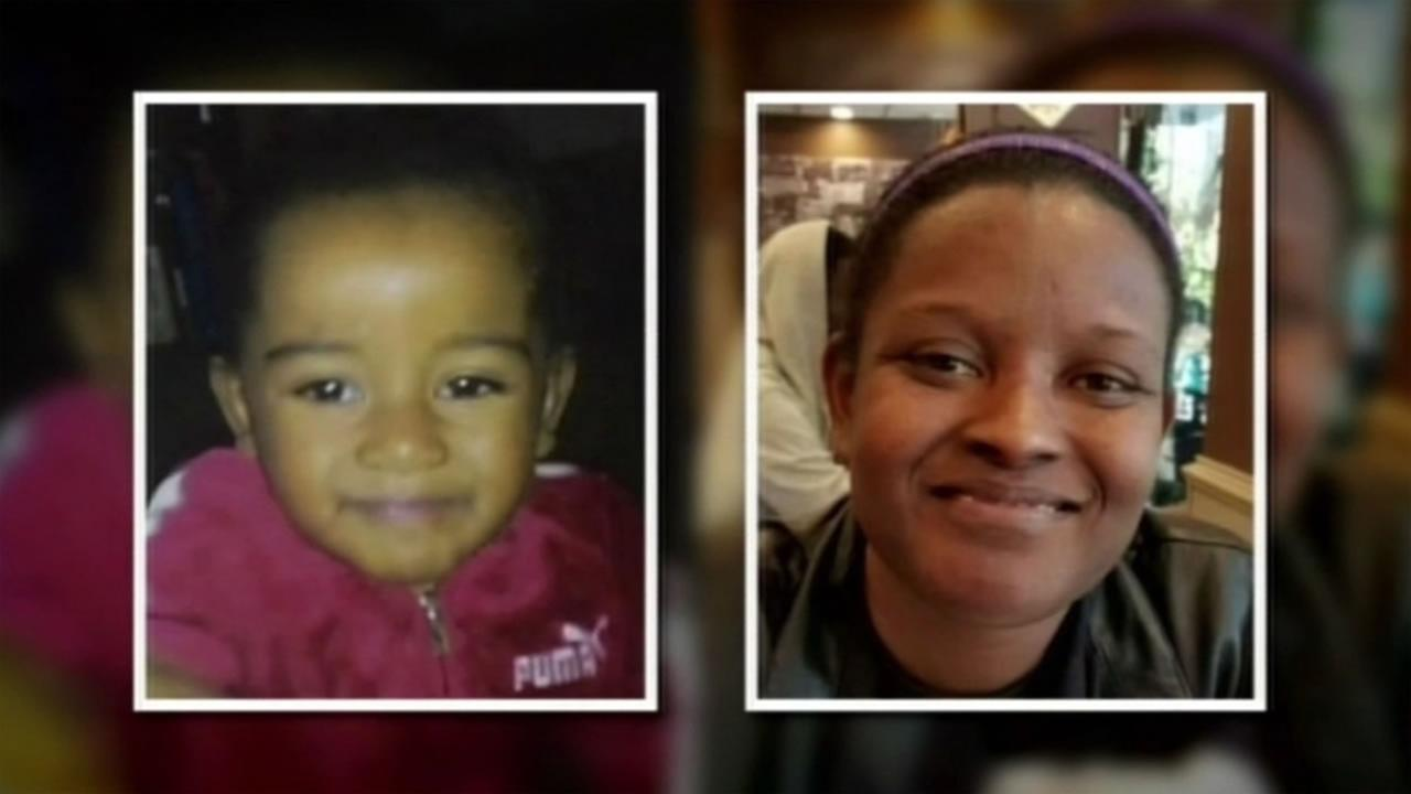 This image shows missing 2-year-old Arianna Fitts and her mother Nicole Fitts who was found murdered April 8, 2016 in John McLaren Park in San Francisco.