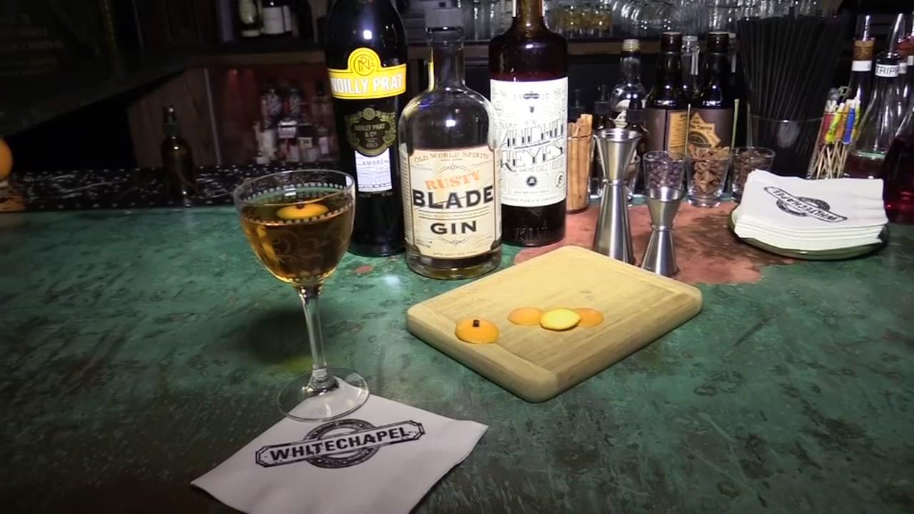 VIDEO: Check out Whitechapel gin bar in SF