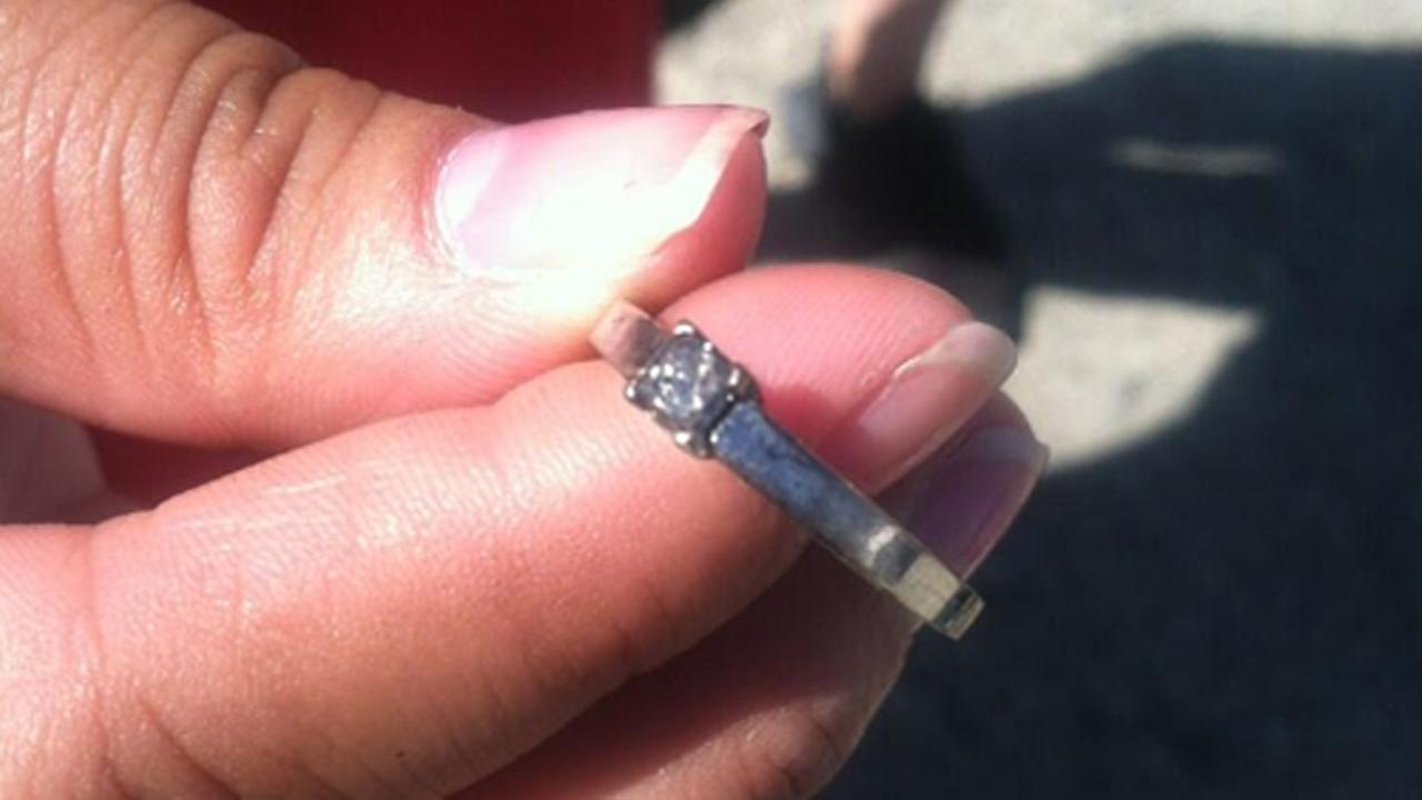 Ring found in Cordelia fire rubble.