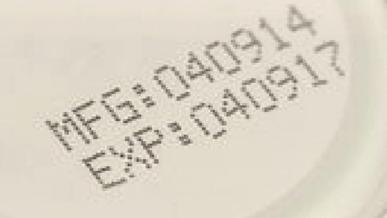 This image shows the sell by date on a food product.