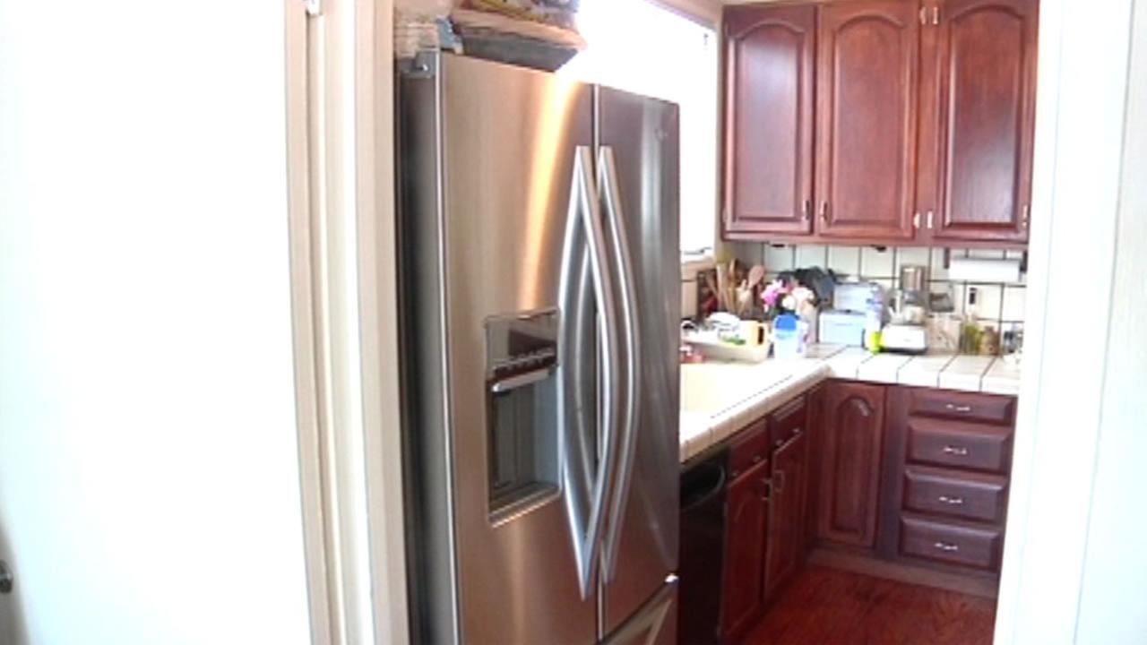 This image shows Whirlpool refrigerator.