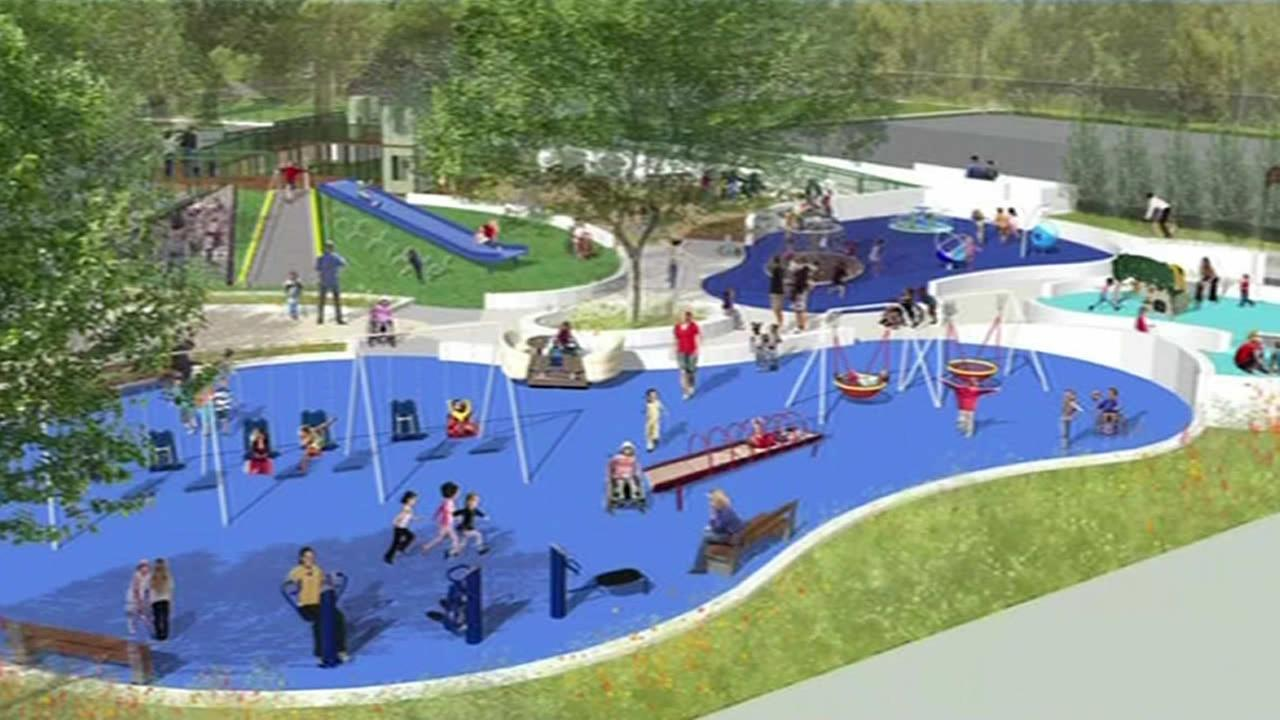 Special needs playground set to open in Palo Alto