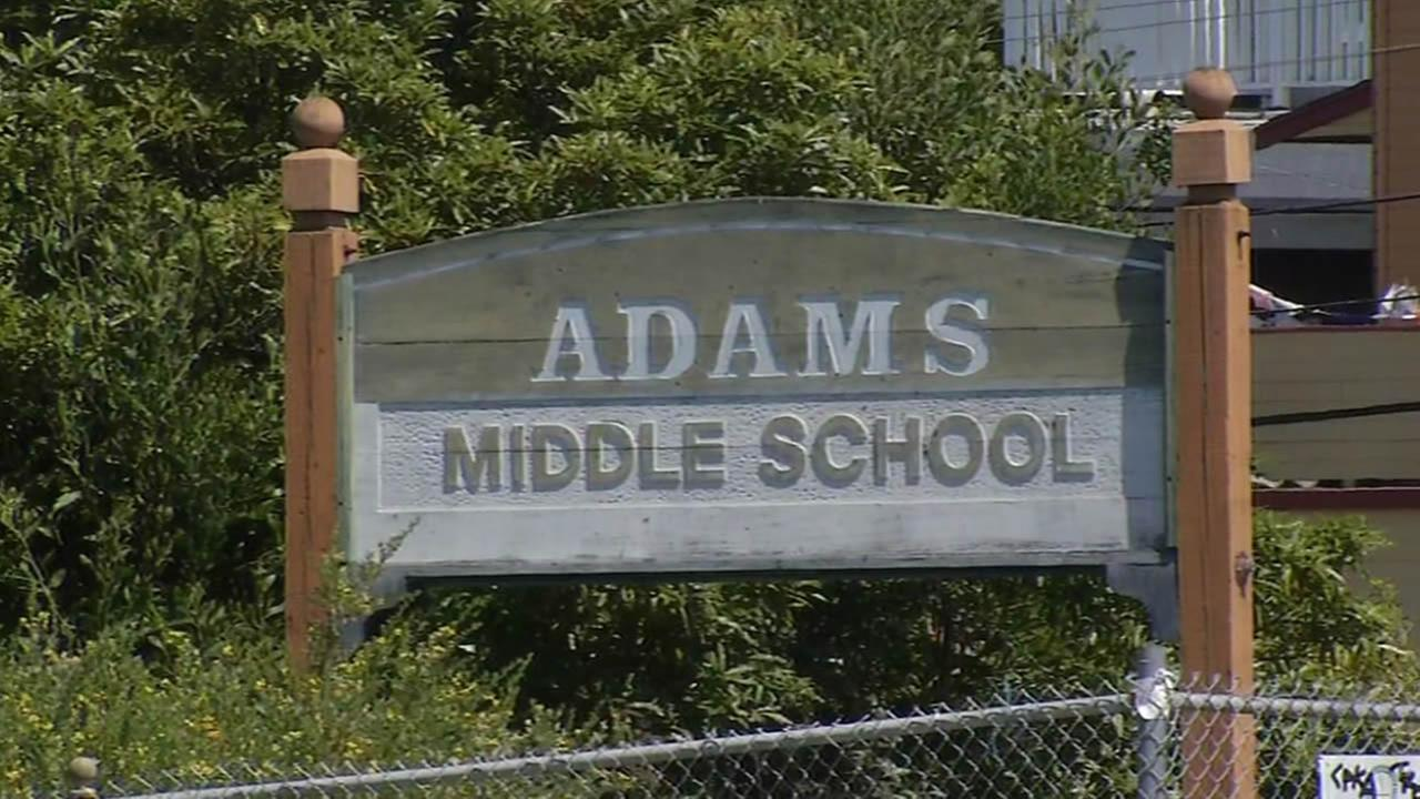 Adams Middle School in Richmond, Calif. is seen in this undated image.
