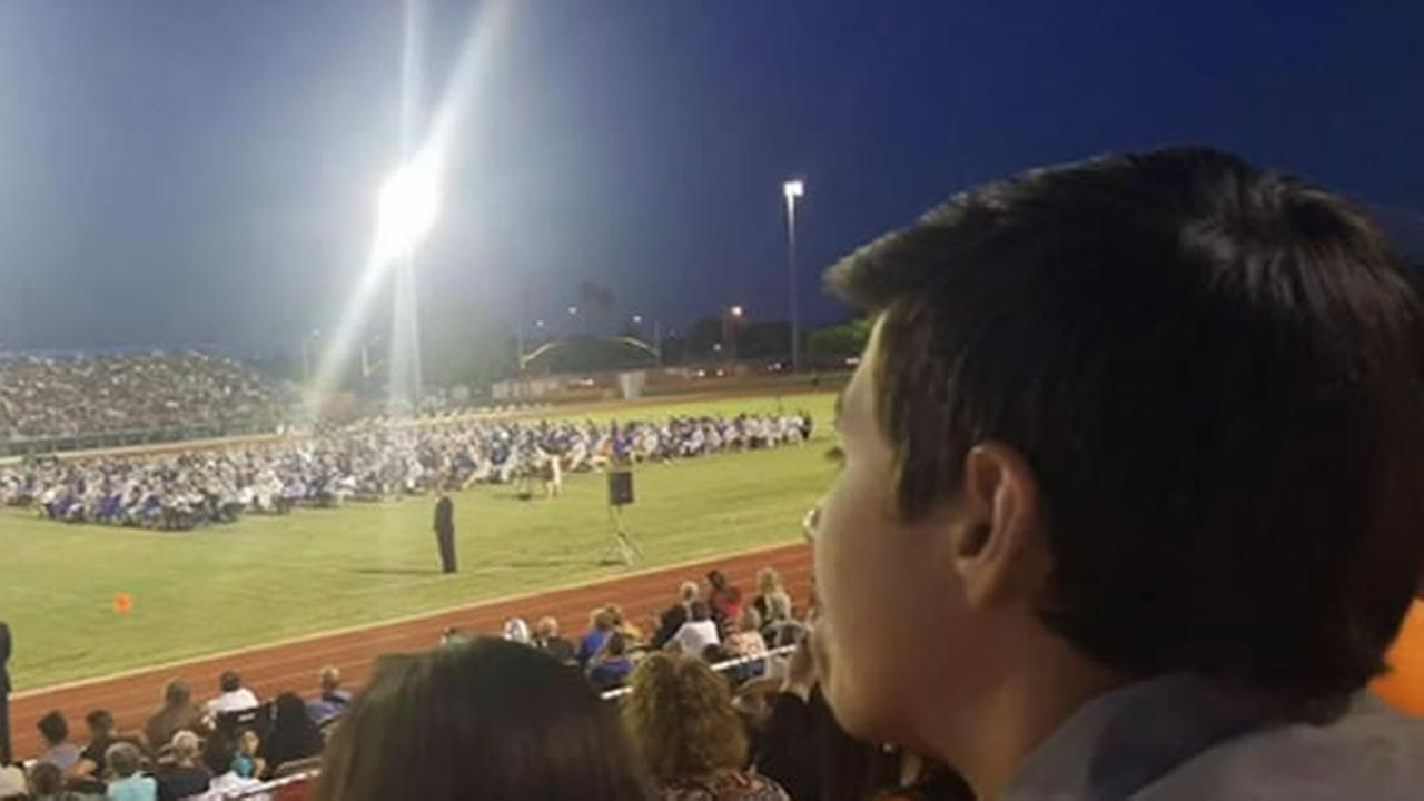 An Arizona high school was facing criticism after not allowing a teen cancer survivor to participate in their graduation ceremony.
