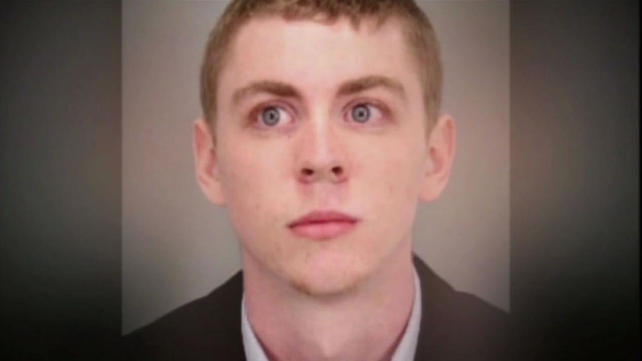 This image shows ex-Stanford student, Brock Turner, who was convicted of sexual assault.