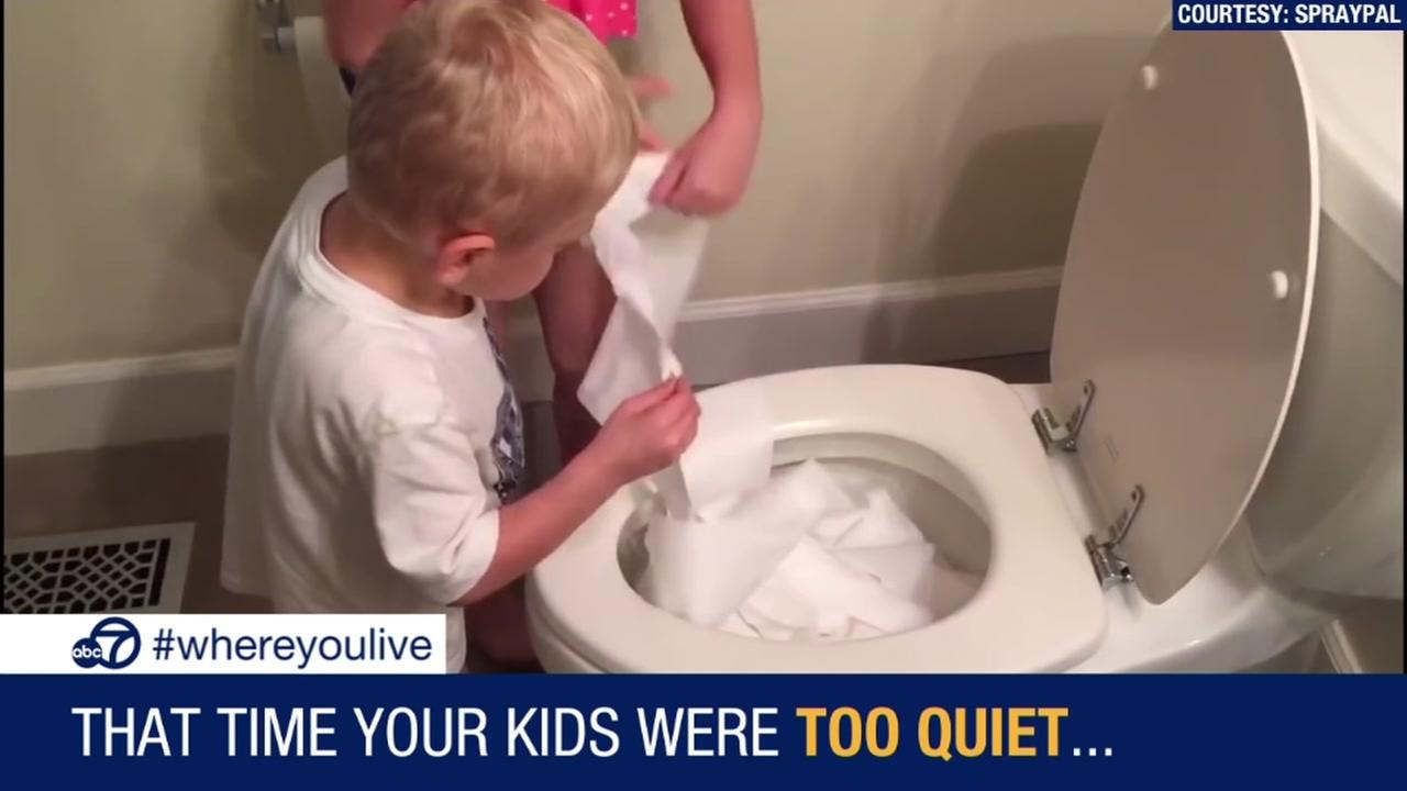 KNOW AND TELL: That Time Your Kids Were Too Quiet...